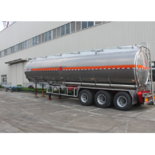 50CBM 3 axle aluminum fuel tank semi-trailer